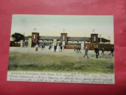 New Hampshire > Salem    Entrance To Rockingham Park-- 1907 Cancel   Ref   635 - Salem