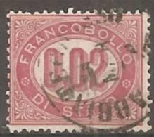 Italia Servizio Di Stato 1875 Usato - Ss. 1+2+3 - Dienstpost