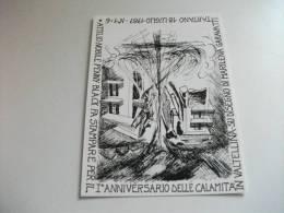 Valtellina Calamità 1987 1° Ann. Serie 6 Cart Tartano Morbegno Ardenno Torresanta Maria  Sondrio Tirano Sant'antonio Mor - Inondazioni