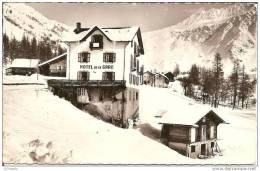 74  LE TOUR -    ,Montroc  Sous La Neige   (timbre Arraché ) - Andere Gemeenten