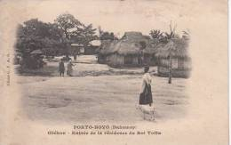 PORTO-NOVO. Gbêkon. Entrée De La Résidence Du Roi Toffa - Dahome