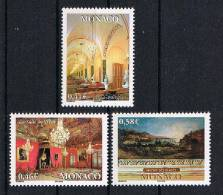 Monaco 2002 Palast Mi.Nr. 2583-85 Kpl. Satz ** - Monaco