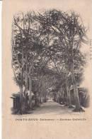PORTO-NOVO. Avenue Gabrielle - Dahomey