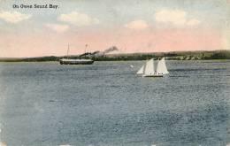 On Owen Sound Bay Written  TTB - Bermudes
