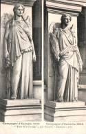 75 PARIS LES VICTOIRES PAR PRADIER CAMPAGNE D'ESPAGNE 1808 CAMPAGNE D'AUTRICHE 1809 PAS CIRCULEE - Skulpturen