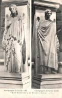 75 PARIS LES VICTOIRES PAR PRADIER CAMPAGNE D'ITALIE 1795 CAMPAGNE DE SYRIE 1799 PAS CIRCULEE - Skulpturen