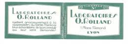 Carnet  189 C2  Laboratoires O. Rolland Lyon  Semeuse Camée 15c Brun  Rolland 4x 1929 Tirage 12000 Ex - Carnets