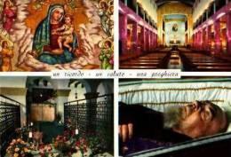 Foggia      4 Vues S. Giovanni. Rotondo. Tomba Di P.Pio . - Foggia