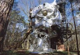 LE CYCLOP De JEAN TINGUELY   La Face Aux Miroirs - Sculptures