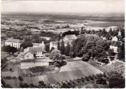 Chatel Le Couvent - Vue Générale Aérienne Avec Les Plaines De Bresse - Autres Communes