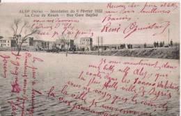 ALEP (SYRIE) INONDATION DU 6 FEVRIER 1922 . LA CRUE DU KOUEK RUE GARE BAGDAD - Syrie