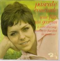 """45 Tours EP - PASCALE CONCORDE - BARCLAY 71374 - """" UNE FILLE UN GARCON """" + 3 - Vinyles"""