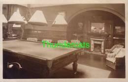 RPPC REAL PHOTO POSTCARD BILLIARD TABLE SNOOKER  **  CARTE DE PHOTO TABLE DE BILLARD - Jeux Et Jouets