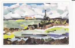 Ile D´Er - Église - Collage De Marcelle Monsarrat - 1990 - - Arts