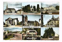 LOUDEAC  ( Côtes-d´Armor  )  Vues... Multi-Vues... - Loudéac
