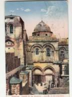 DB393-ISRAEL-AK JERUSALEM-GRAB FACHADE-Gel 1927 - Israel
