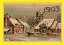 CPA FANTAISIE ANNEE 1903 - New Year