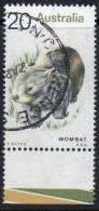 Australia 1974 Animals 20c Wombat Used SG 561 - Actual Stamp -  With Selvedge - - 1966-79 Elizabeth II