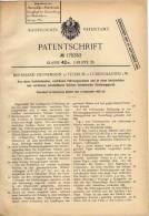 Original Patentschrift - B. Hunsemann In Tetekum B. Lüdinghausen I.W., 1905 , Zeichenapparat , Architektur , Zeichnen !! - Architektur