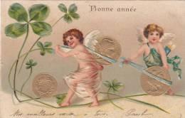CPA   Bonne Année  1905             (carte Gaufrée) - New Year