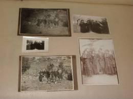 4 Photos Originales +1 Carte Photo 73 BESSANS Savoie  A Saisir - France