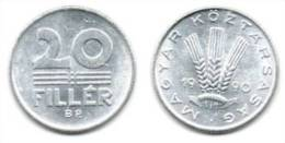Hongrie 20 Filler 1990. # 1601. - Hongarije