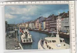 PO5169B# DANIMARCA - COPENHAGEN - NYHAVN - HYDROFOIL  BOATS - ALISCAFI  VG 1971 - Denmark