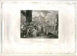 - LES OEUVRES DE MISERICORDE . GRAVURE SUR ACIER DU XIXe. S. . - Religion & Esotérisme