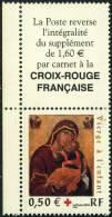 3717  Cr.-Rge : Vierge à L'Enfant - Ecole Crétoise Avec Vignette  Neuf  **  2004 - France