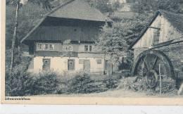 G G S 743/ C P A -ALLEMAGNE  -  SCHWARZWALDHAUS - Allemagne