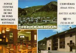 Chaudemaison Cervières Foyer Centre école De Ski De Fond Montagne Estivale - Otros Municipios