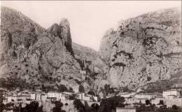 Carte Postale MOUSTIERS SAINTE MARIE 1953 GORGES VERDON  BASSES ALPES PROVENCE - Autres Communes