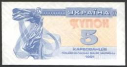 Ukraine - 5 Hrywnja Ungebraucht / Mint (m310) - Ukraine