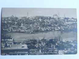 CONSTANTINOPLE - Vue Panoramique De CONSTANTINOPLE Et De La Corne D'Or - Turquie