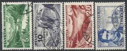 1931 SVIZZERA USATO PRO JUVENTUTE 4 VALORI - SZ021 - Usati