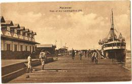 Macassar - View Of The Landingplace - & Boat - South Africa