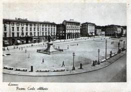 """Cartolina D´epoca     """" Livorno - Piazza Carlo Alberto  """" - Livorno"""