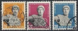 1944 SVIZZERA USATO COMITATO OLIMPICO INTERNAZIONALE -  SZ037-2 - Usati
