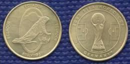 Medal Ecuador Football Soccer FIFA  World Cup 2006 Germany. # 1604. - Habillement, Souvenirs & Autres
