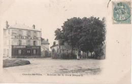 COMBS LA VILLE.(.avenue De La ..gare) - Combs La Ville