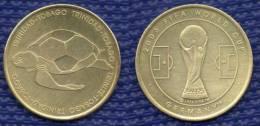 Medal Trinidad - Tobago Football Soccer FIFA  World Cup 2006 Germany. # 1604. - Habillement, Souvenirs & Autres