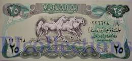 IRAQ 25 DINARS 1990 PICK 74a UNC - Iraq