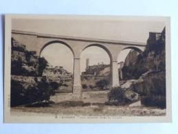 MINERVE - Pont Donnant Accès Au Village - France