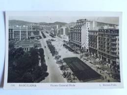 BARCELONA - Paseo Del General MOLA - Barcelona