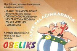 ASTERIX * OBELIX * FILM * MOVIE * CINEMA * CAFFEE * PANCAKE * CALENDAR * Obeliks 2005 * Serbia - Small : 2001-...
