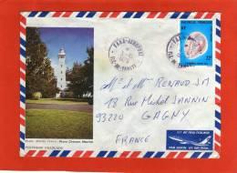 YVERT PA132 SEUL SUR LETTRE FAAA AEROPORT 3/10/1979  POUR FRANCE GAGNY - Polynésie Française