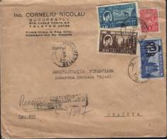 Romania-Registered Letter Circulated In 1948- 2/scans - Covers & Documents