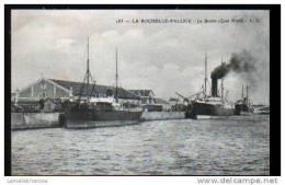 17 - LA PALLICE-ROCHELLE - LE BASSIN (QUAI NORD) - La Rochelle
