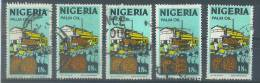 VEND TIMBRES DU NIGERIA N° 290 (B) X 5 NUANCES DIFFERENTES !!!! - Nigeria (1961-...)