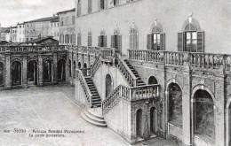 """Cartolina  D´epoca  """" SIENA - Palazzo Bandini Piccolomini - La Parte Posteriore """" - Siena"""